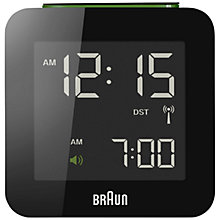 Buy Braun Radio Controlled Global Alarm Clock Online at johnlewis.com