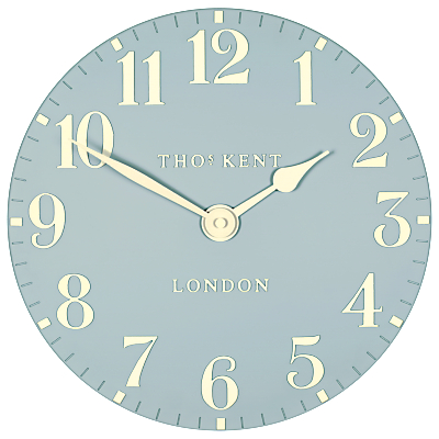 Thomas Kent Cotswold Wall Clock, Dia.30cm, Blue