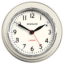 Buy Newgate The Mini Cookhouse Clock, Dia.23cm Online at johnlewis.com