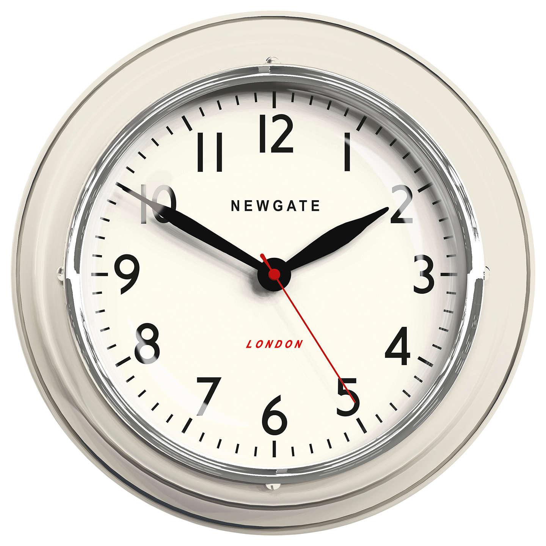Black Kitchen Clock Argos: Newgate The Mini Cookhouse Clock, Dia.23cm At John Lewis