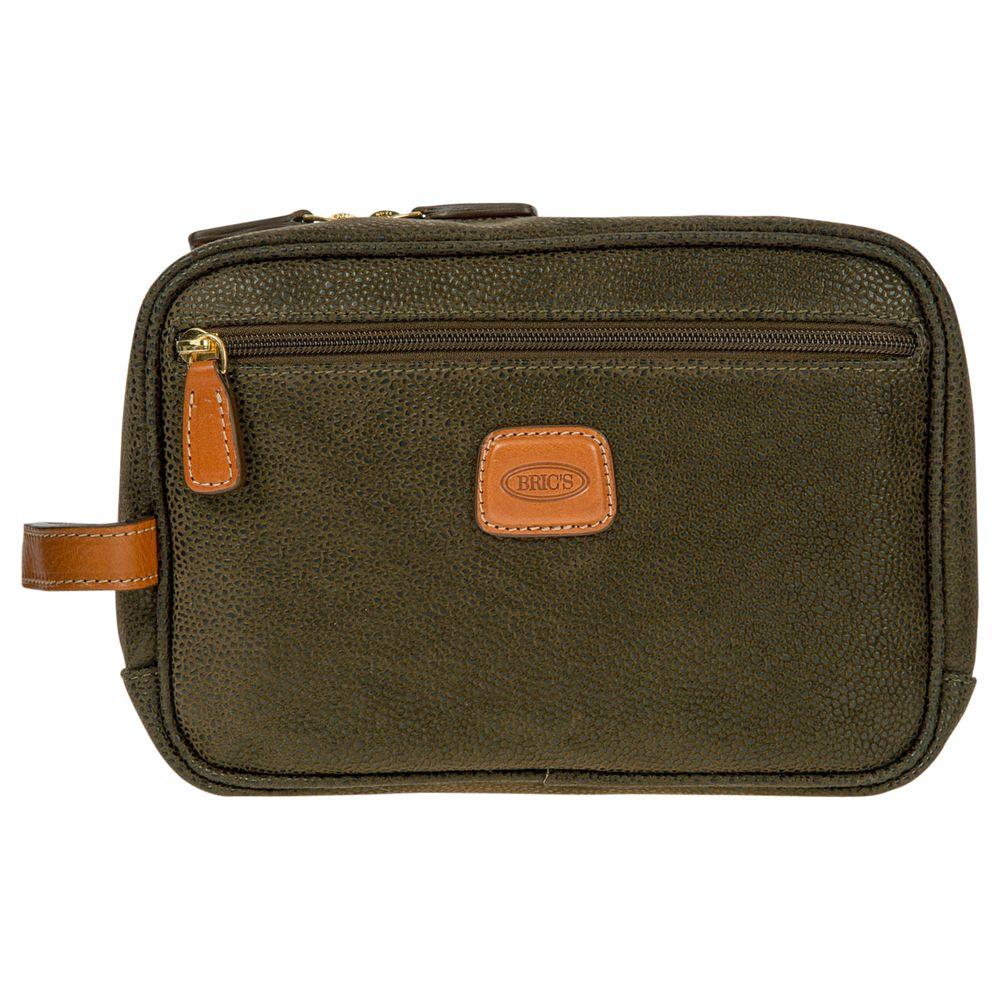 Bric's Bric's Life Wash Bag, Olive