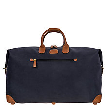 Buy Bric's Life Clipper Medium Holdall, Blue Online at johnlewis.com