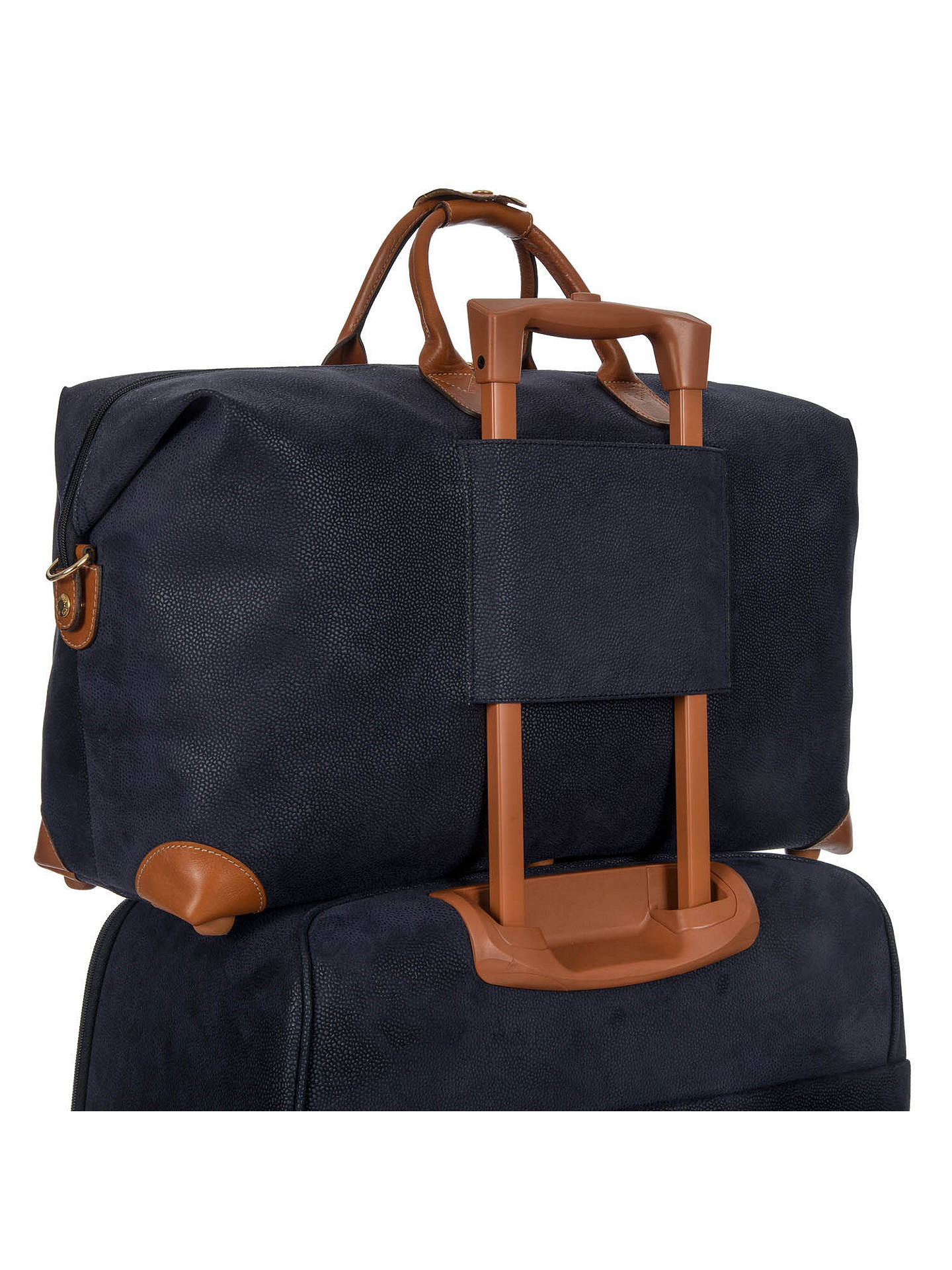 BuyBric's Life Clipper Medium Holdall, Blue Online at johnlewis.com