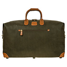 Buy Brics Life Clipper Medium Holdall, Olive Online at johnlewis.com