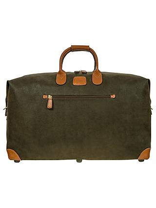 Brics Life Clipper Medium Holdall, Olive