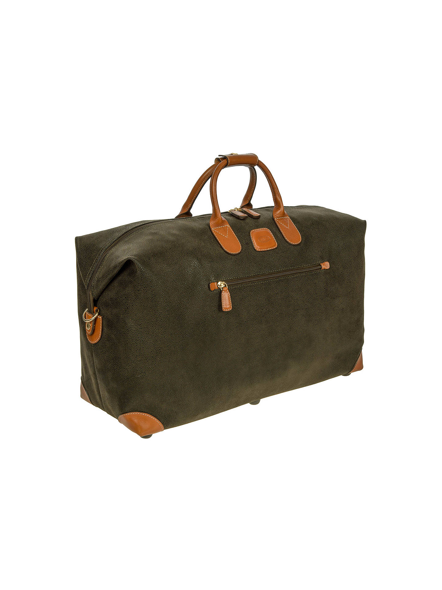 BuyBrics Life Clipper Medium Holdall, Olive Online at johnlewis.com
