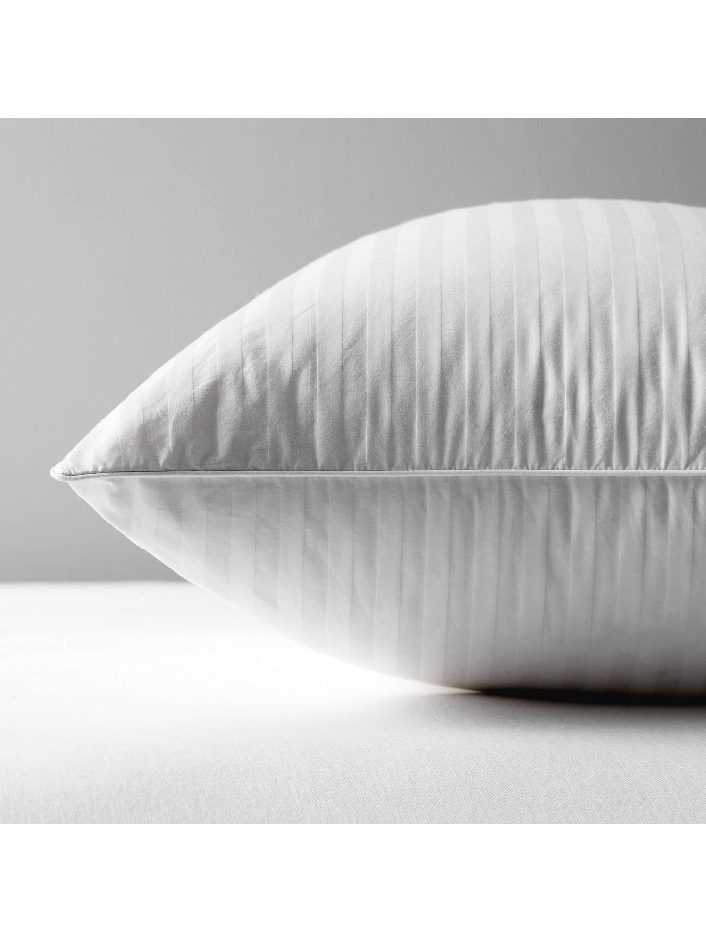 BuyJohn Lewis & Partners Natural Collection Hungarian Goose Down Square Pillow, Soft/Medium Online at johnlewis.com