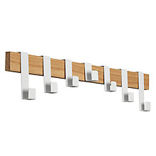 Buy House by John Lewis High Low 7 Hook Rack Online at johnlewis.com