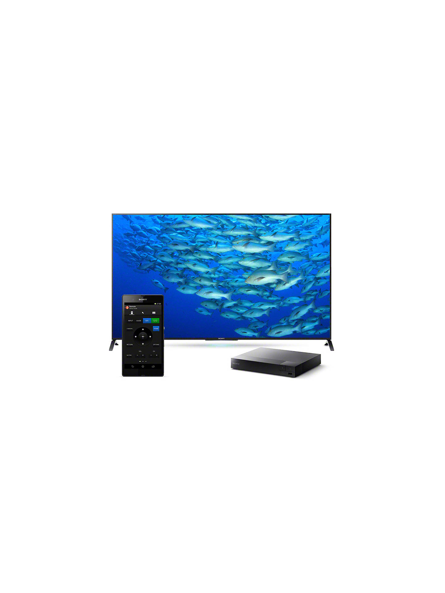 Buy Sony BDP-S3700 Smart Blu-Ray/DVD Player With Super Wi-Fi Online at johnlewis.com