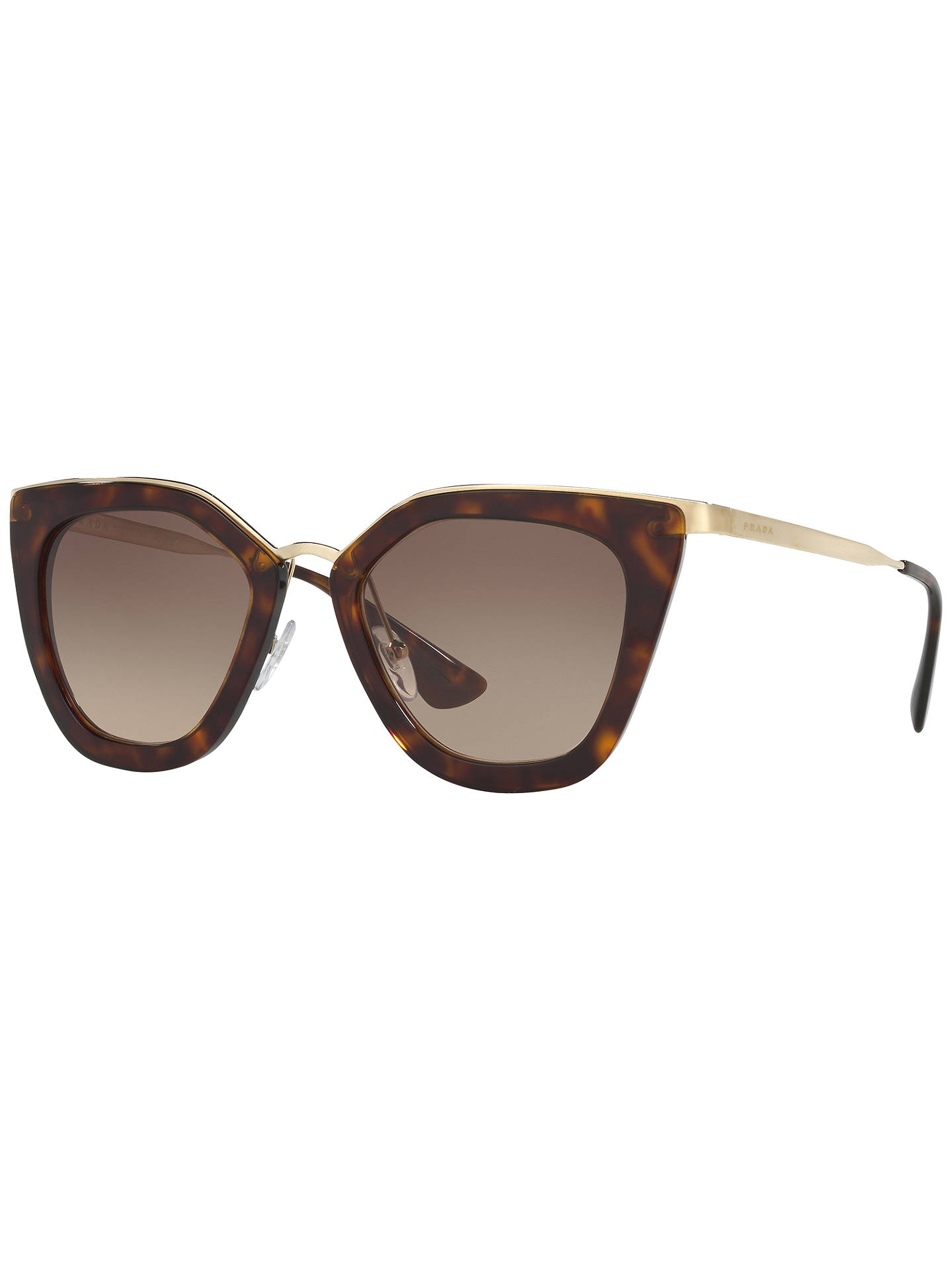 ac354bf80 Buy Prada PR 53SS Gradient Cat's Eye Sunglasses, Tortoise Online at  johnlewis. ...