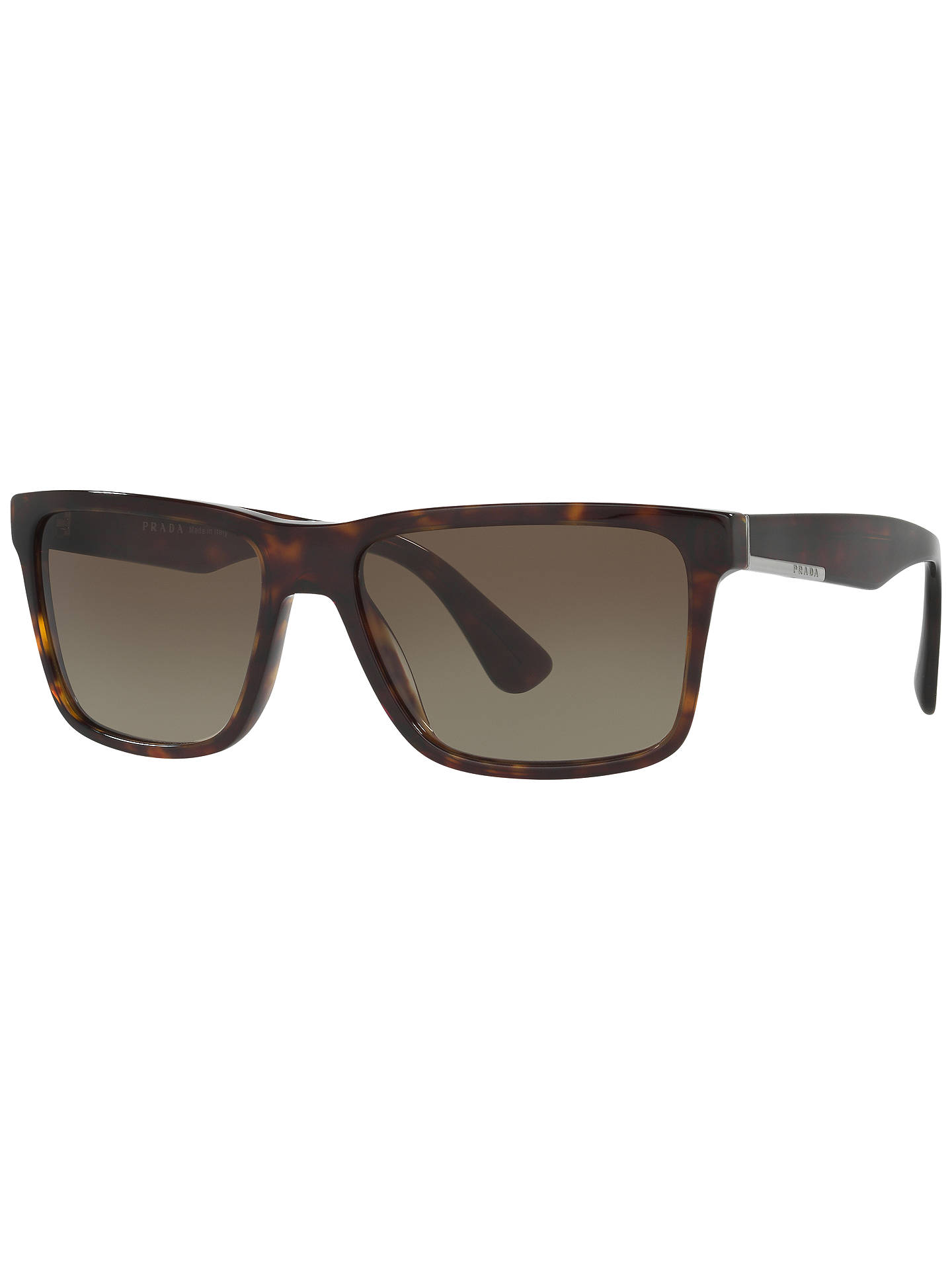 f93b7bf7fc Prada SPR19S Square Gradient Sunglasses at John Lewis   Partners