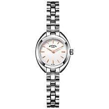 Buy Rotary Women's Petite Bracelet Strap Watch Online at johnlewis.com