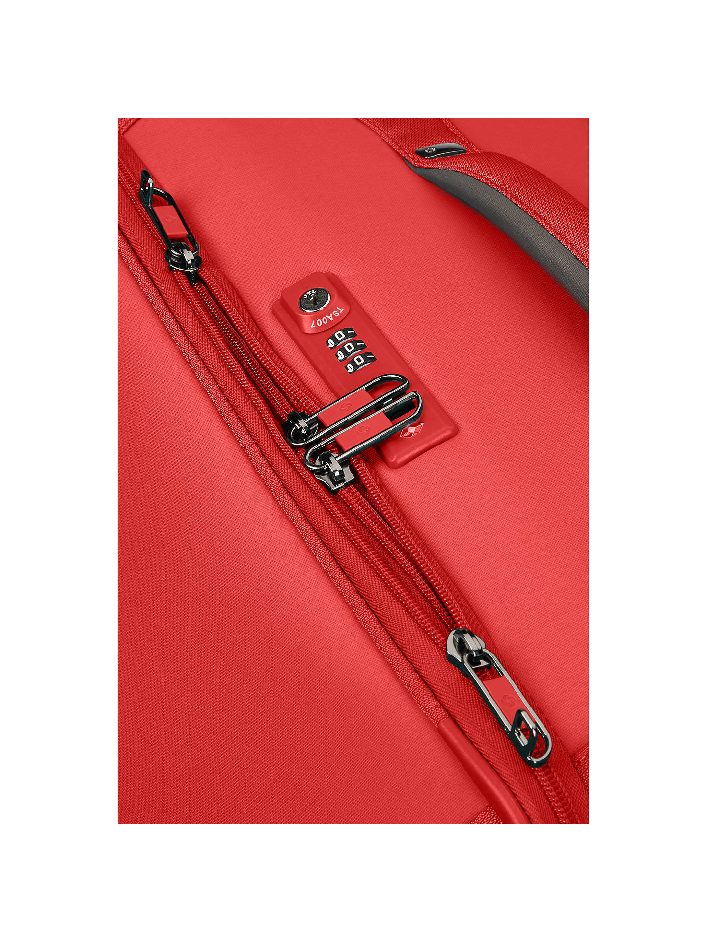 BuySamsonite Uplite 4-Wheel 67cm Spinner Suitcase, Red Online at johnlewis.com