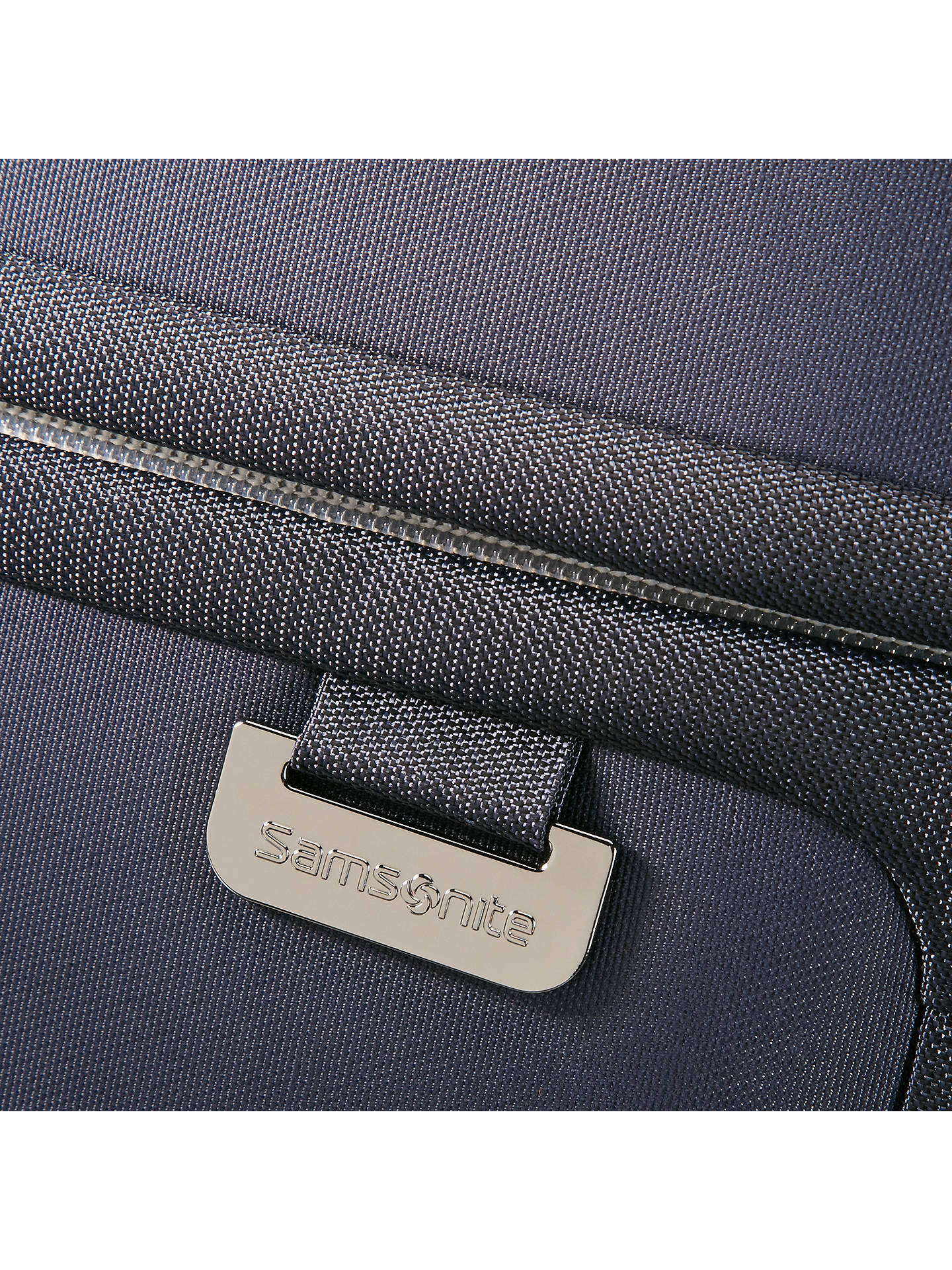 BuySamsonite Uplite 2-Wheel 55cm Cabin Suitcase, Navy Online at johnlewis.com