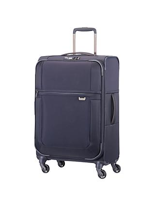 Samsonite Uplite 4-Wheel 67cm Spinner Suitcase, Navy