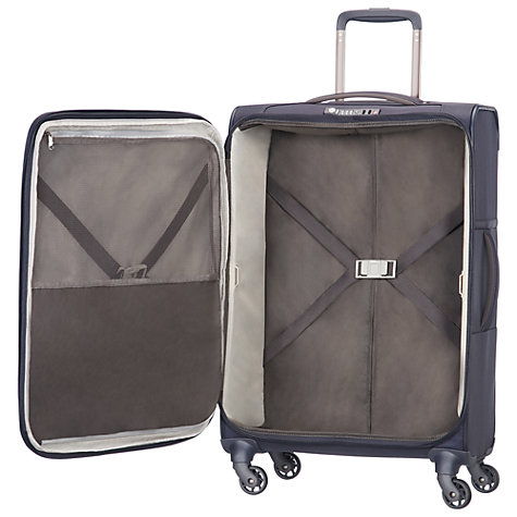 Buy Samsonite Uplite 4-Wheel 67cm Spinner Suitcase, Navy Online at johnlewis.com