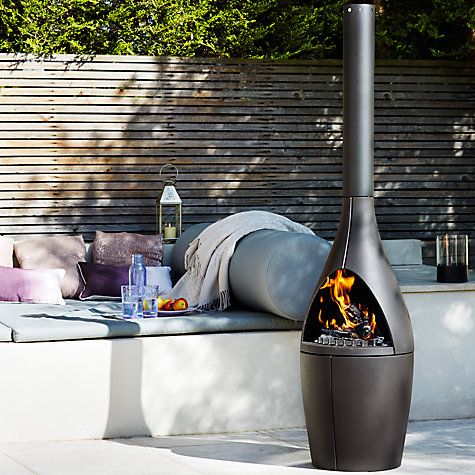 Buy Morsø Kamino Outdoor Fireplace Online at johnlewis.com