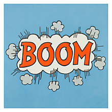 Buy James Ellis Stevens Boom Greetings Card Online at johnlewis.com