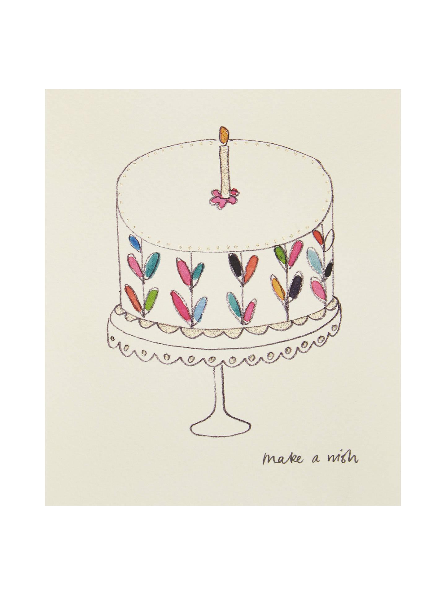 Pleasant Paperlink Birthday Cake Greetings Card At John Lewis Partners Funny Birthday Cards Online Elaedamsfinfo