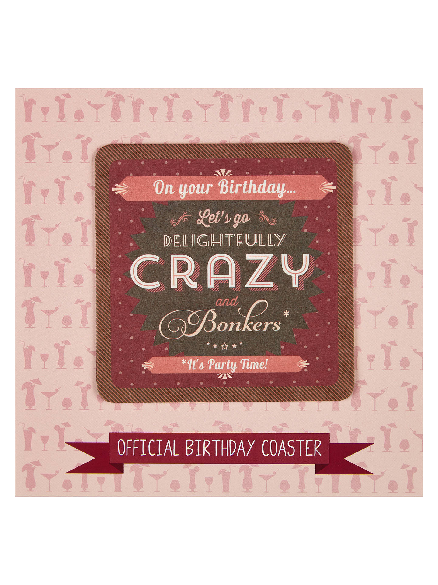 Saffron cards and gifts delightfully crazy birthday card at john buysaffron cards and gifts delightfully crazy birthday card online at johnlewis m4hsunfo