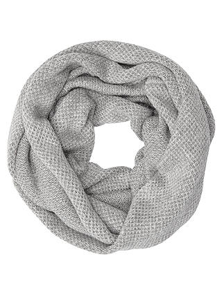 Buy John Lewis Glitter Snood, Grey Online at johnlewis.com