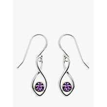 Buy Nina B Twist Drop Earrings Online at johnlewis.com