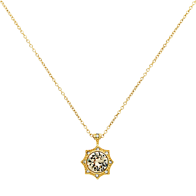 Cachet Becka Swarovski Crystal Pendant Necklace, Gold