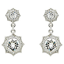Buy Cachet Becka Swarovski Crystal Drop Earrings Online at johnlewis.com