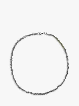 Nina B Loop Chain Necklace, Silver