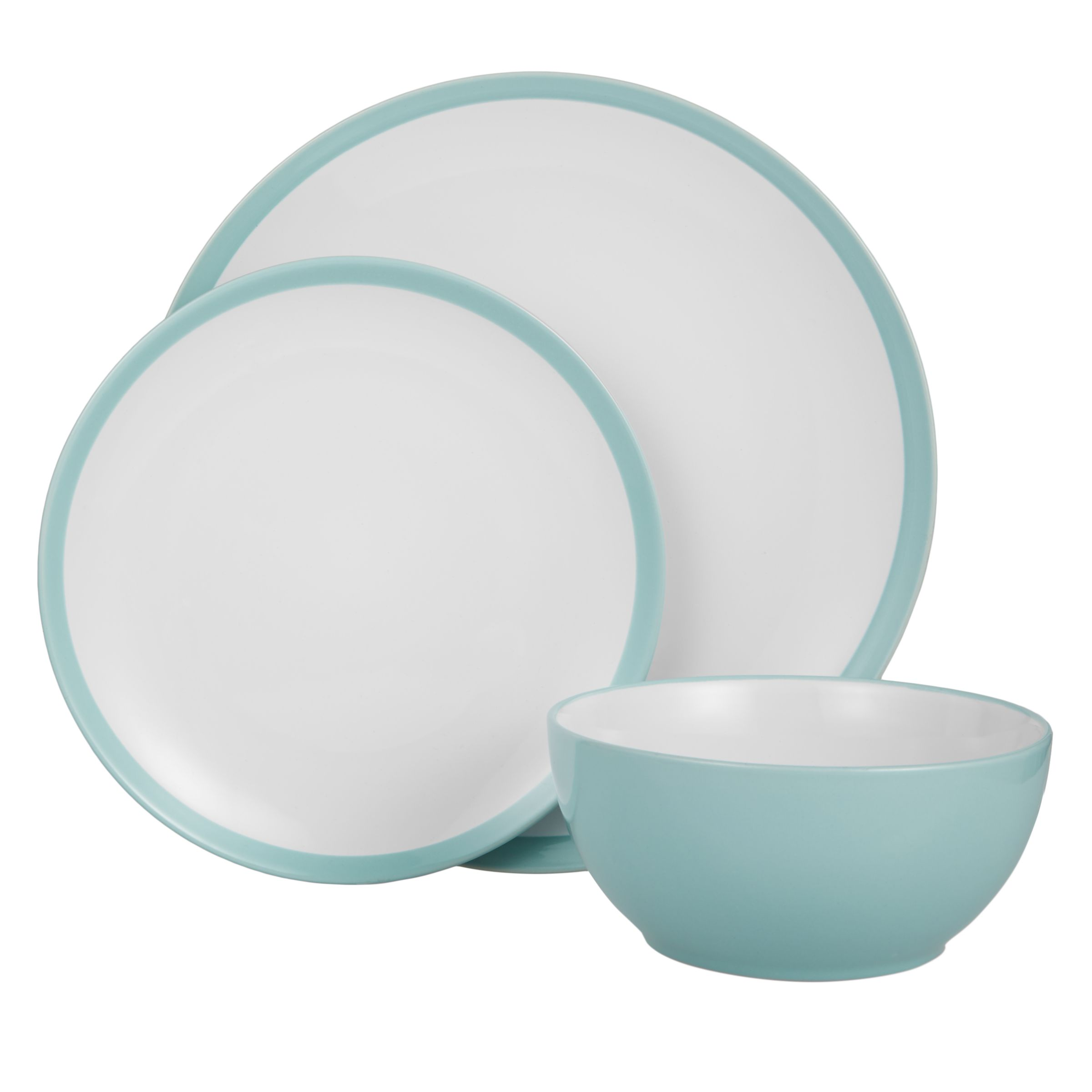 John Lewis & Partners The Basics China Dinnerware Set, 12 Piece at ...