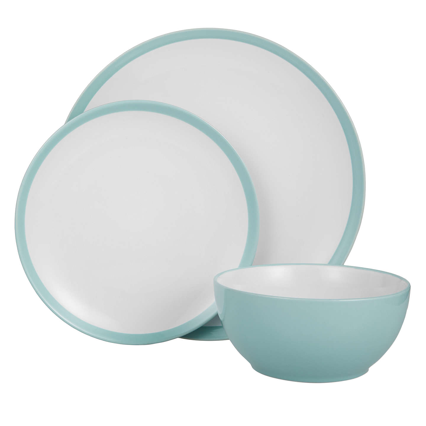 BuyJohn Lewis The Basics China Dinnerware Set 12 Piece Mineral Online at johnlewis.  sc 1 st  John Lewis : everyday bone china dinnerware - Pezcame.Com