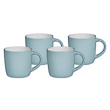 Buy John Lewis Basics Mug, Set of 4 Online at johnlewis.com