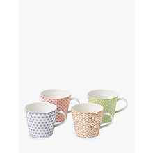 Buy Royal Doulton Pastels Porcelain Accent Mugs, Set of 4, Multi Online at johnlewis.com