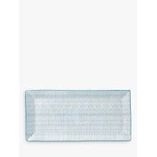 Buy Royal Doulton Pastels Porcelain Rectangle Serve Tray, Blue Online at johnlewis.com