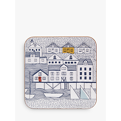 John Lewis Coastal Nordic Coaster, Set of 6