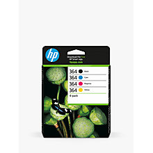 Buy HP 364 Ink Cartridge Multipack, Pack Of 4 Online at johnlewis.com