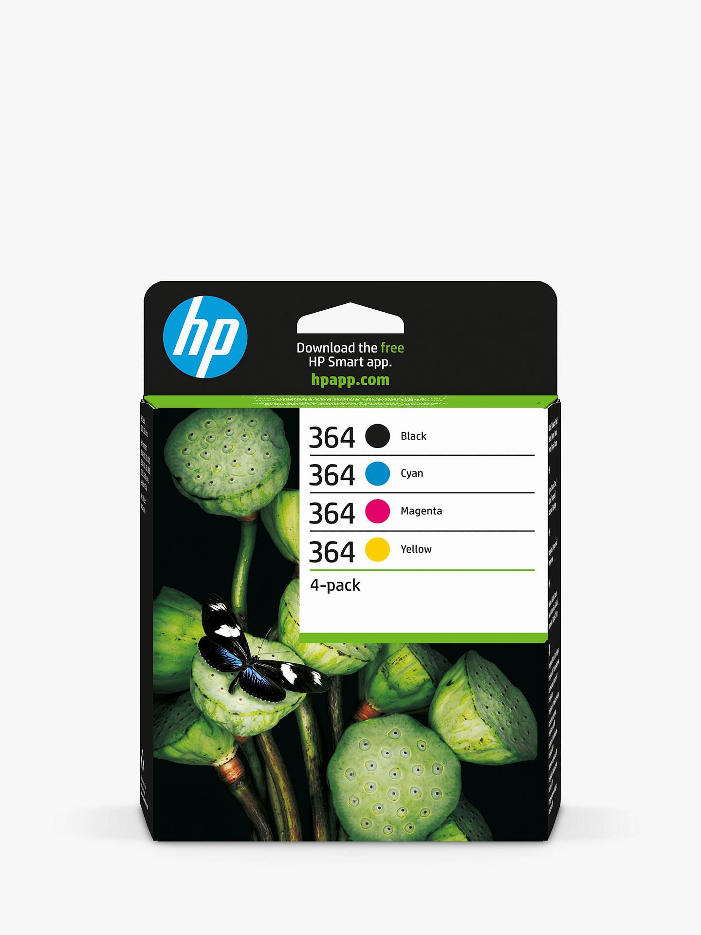HP 364 Ink Cartridge Multipack, Pack Of 4