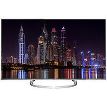 "Buy Panasonic Viera 50DX750B LED HDR 4K Ultra HD 3D Smart TV, 50"" With Freeview Play/freetime & Art Of I and Belkin HDMI Cable, 2m Online at johnlewis.com"