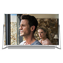 "Buy Panasonic 58DX802B LED HDR 4K Ultra HD 3D Smart TV, 58"" With Freeview Play/freetime, Sound Bar & Art & Interior Freestyle Design Online at johnlewis.com"