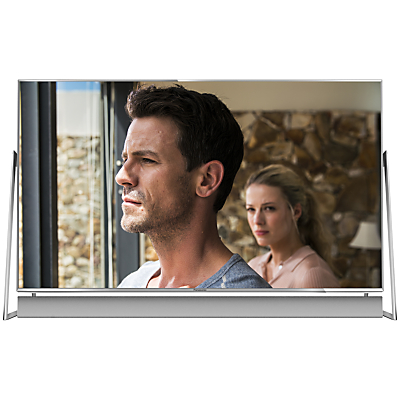Panasonic 50DX802B LED HDR 4K Ultra HD 3D Smart TV, 50 With Freeview Play/freetime, Sound Bar & Art & Interior Freestyle Design, Ultra HD Certified