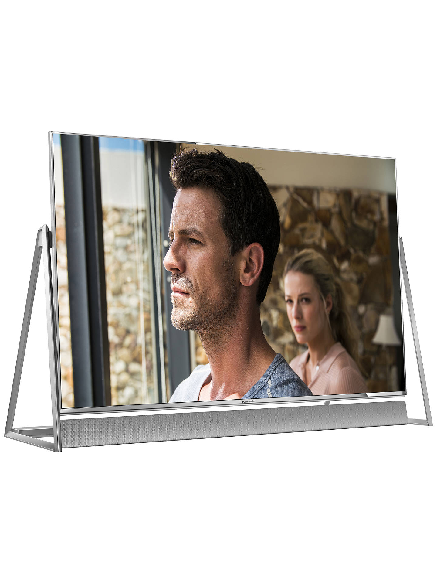 "BuyPanasonic TX-50DX802B LED HDR 4K Ultra HD 3D Smart TV, 50"" With Freeview Play/freetime, Sound Bar & Art & Interior Freestyle Design, Ultra HD Certified Online at johnlewis.com"