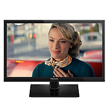 "Buy Panasonic 24DS500B LED HD Ready 720p Smart TV, 24"" With Freeview HD, Built-In Wi-Fi & Adaptive Backlight Dimming Online at johnlewis.com"