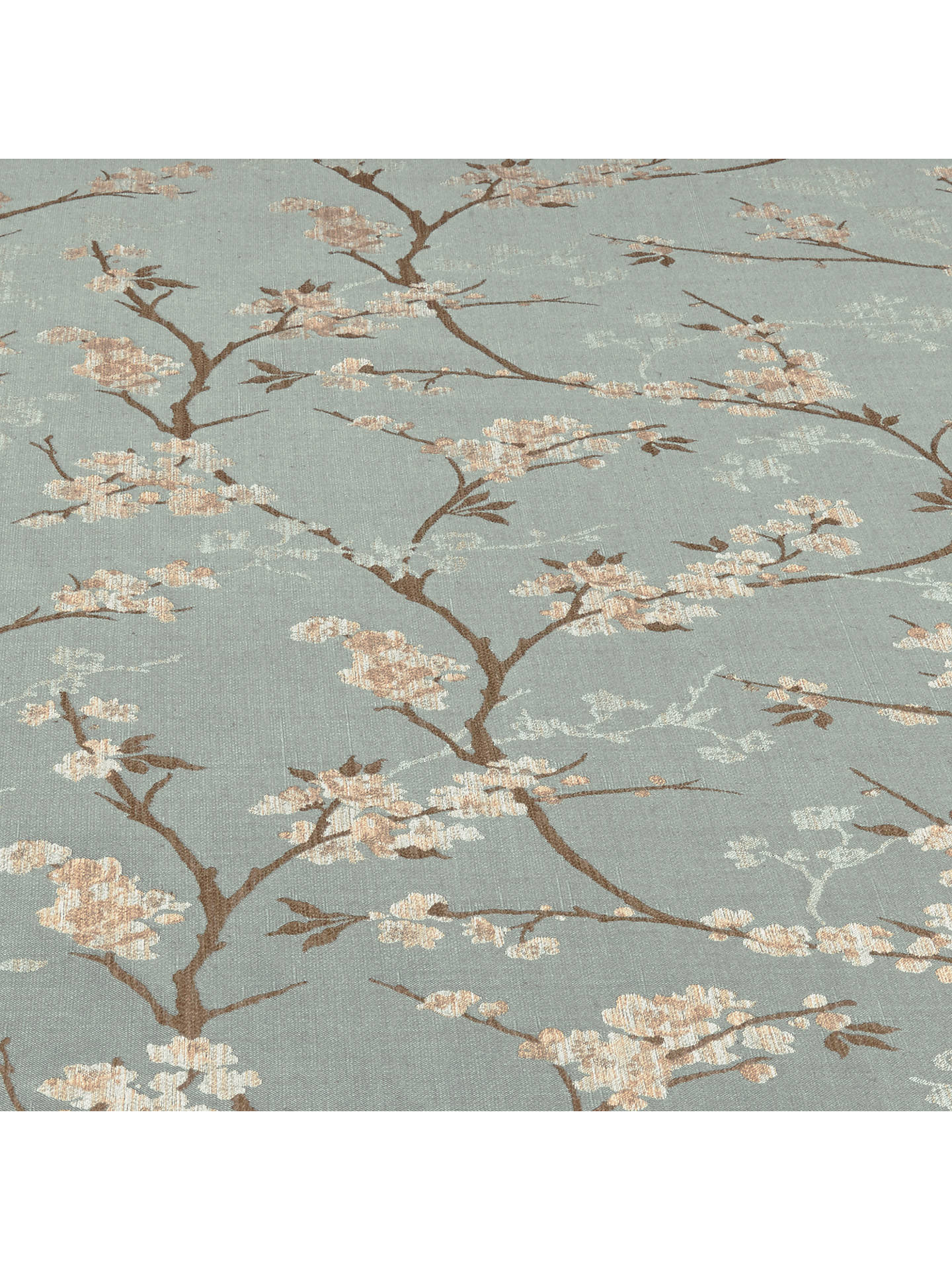 Buy John Lewis & Partners Blossom Weave Furnishing Fabric, Duck Egg Online at johnlewis.com