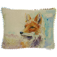 Buy Voyage Foxy Cushion, Multi Online at johnlewis.com