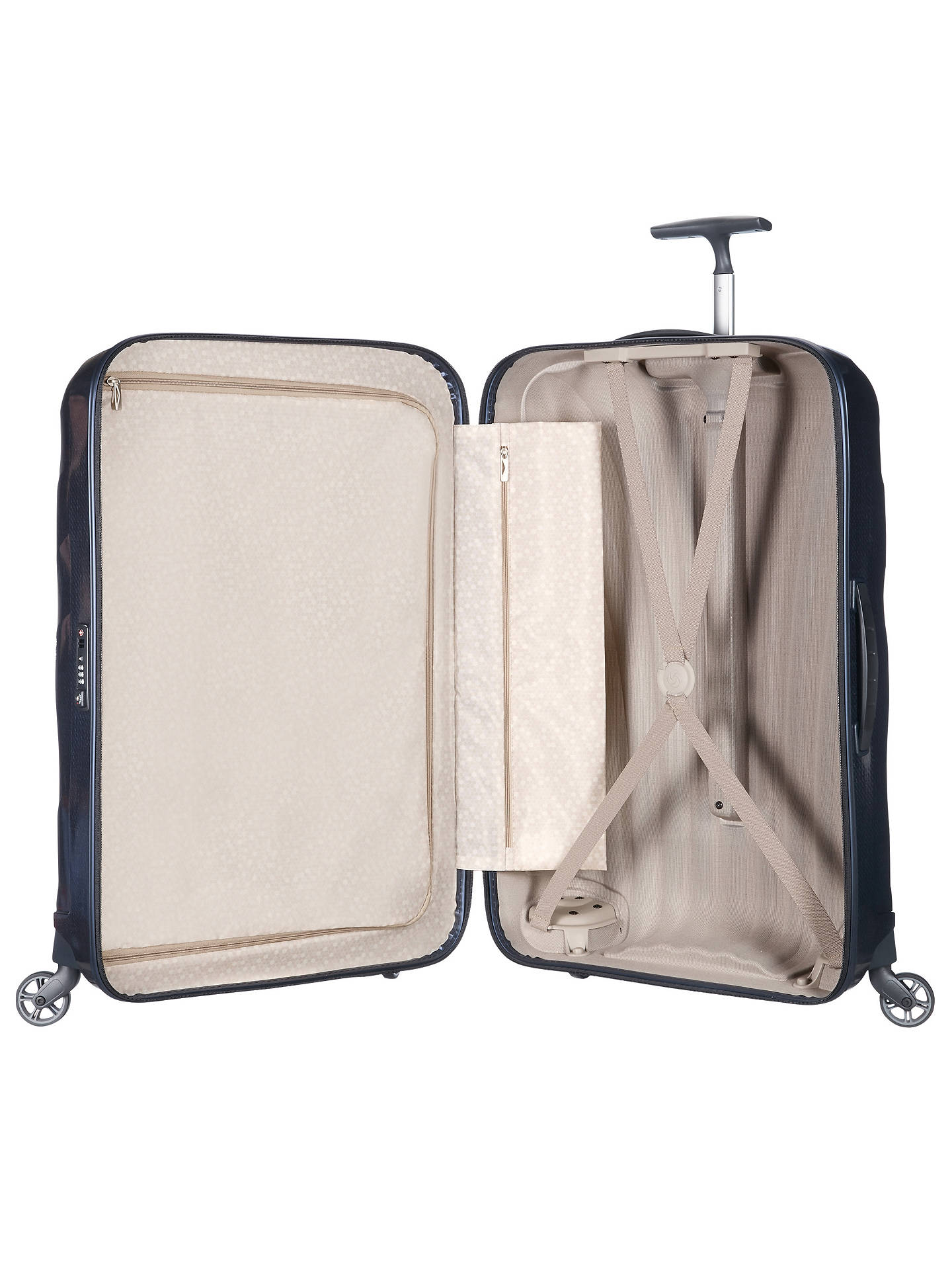 BuySamsonite Cosmolite 3.0 Spinner 4-Wheel 86cm Suitcase, Navy Online at johnlewis.com