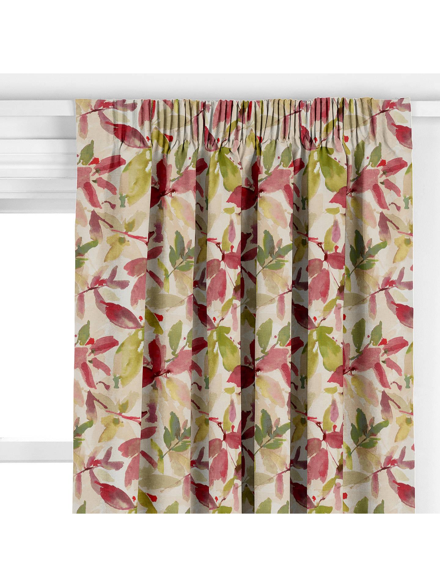 John Lewis Amp Partners Alexa Made To Measure Curtains Pink