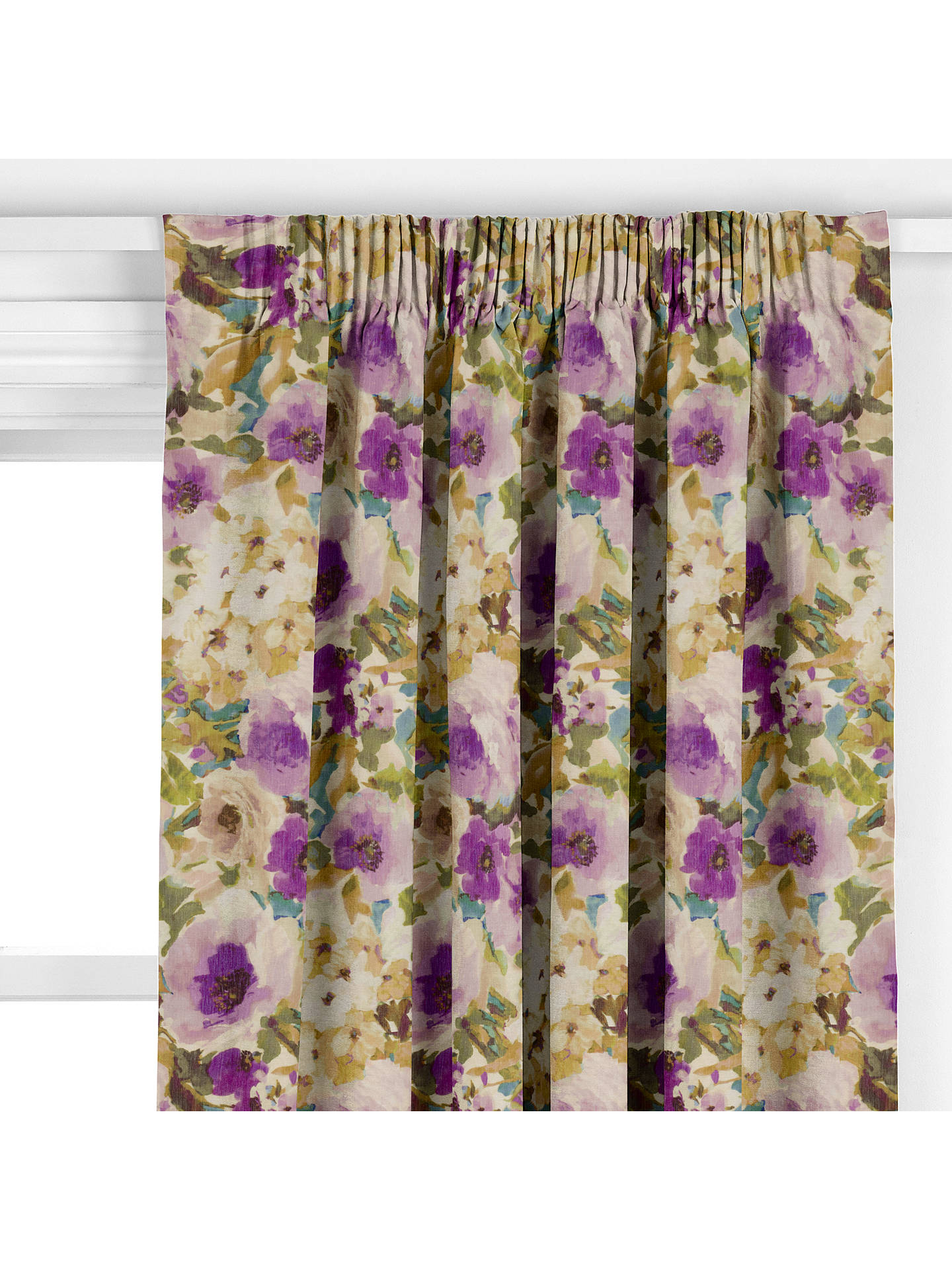 BuyJohn Lewis & Partners Helena Furnishing Fabric, Amethyst, Was £30.00 per metre, Now £9.00 per metre Online at johnlewis.com