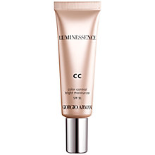Buy Giorgio Armani Luminessence CC Cream Online at johnlewis.com