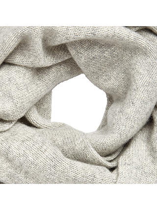 Buy John Lewis Cashmere Scarf, Light Grey Online at johnlewis.com