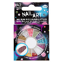 Buy NPW Sequin Wheel Nail Art Online at johnlewis.com